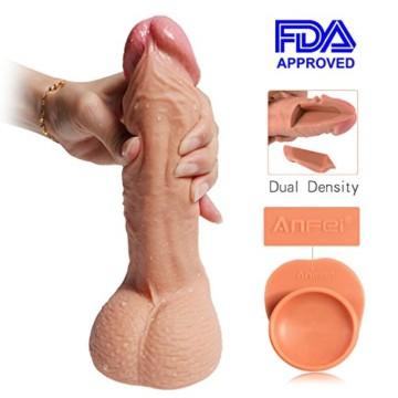Realistische Penisnachbildung, 22 cm lang