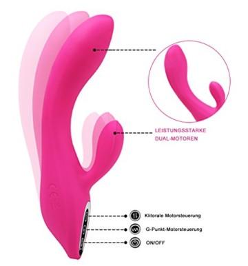 G Punkt Vibrator mit Stoßfunktion