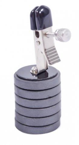 Nippelklammern mit Magnet-Gewichten