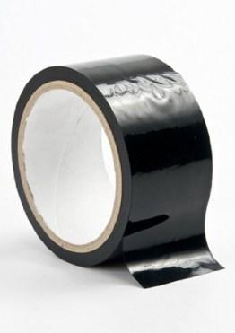 Bondage Tape schwarz