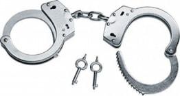 Stahl Handschellen aus Carbonstahl