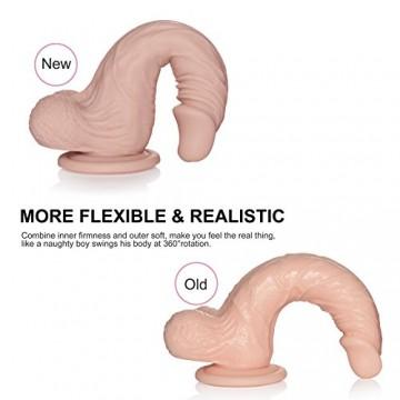 realistischer Silikon Dildo